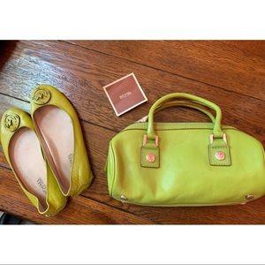 💚 Michael Kors Vintage Bag & Flats 💚